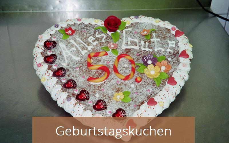 Geburtstagskuchen - Cafe Zartbitter