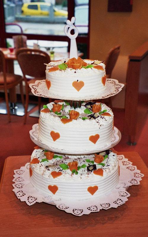 Hochzeitskuchen - Cafe Zartbitter