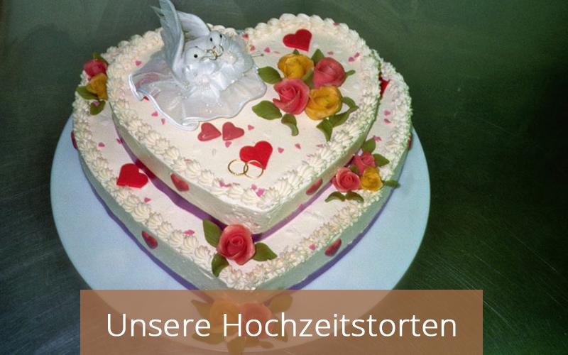 Hochzeitstorten - Cafe Zartbitter