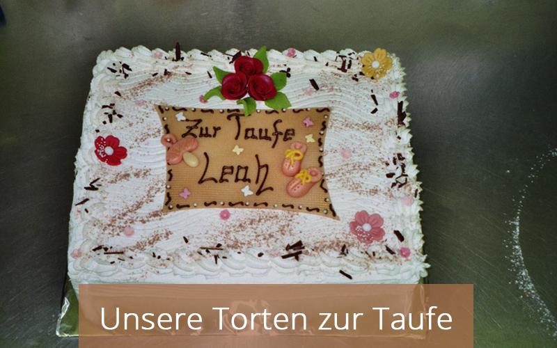 Taufe Torten - Cafe Zartbitter